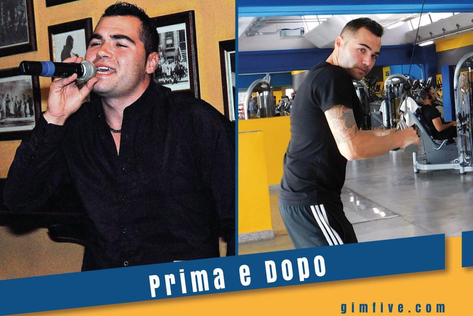Come Luca Foddi ha perso tanti chili in poco tempo in GimFIVE