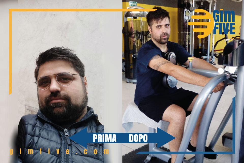 Gaetano Bruno prima e dopo GimFIVE